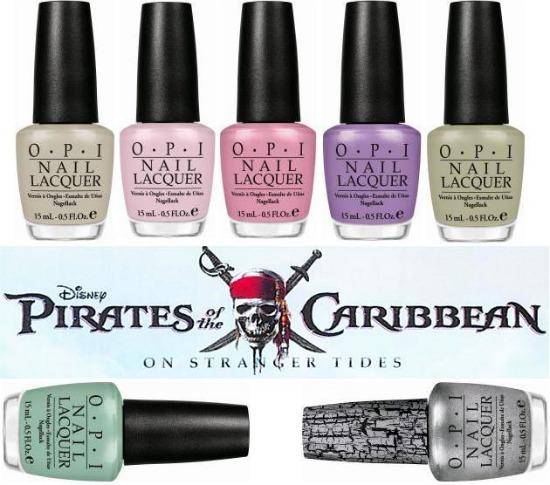 opipirates - OPI Pirates of the Caribbean
