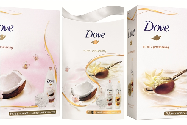 page1 - Dove | Purely Pampering voedende douchecrèmes