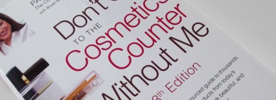 paulabegouncosmeticcounter1small - Beautyboek: Paula Begoun | Don't go to the cosmetics counter without me