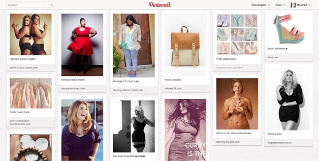 pinterest 6 - Curvacious nu ook op Pinterest!