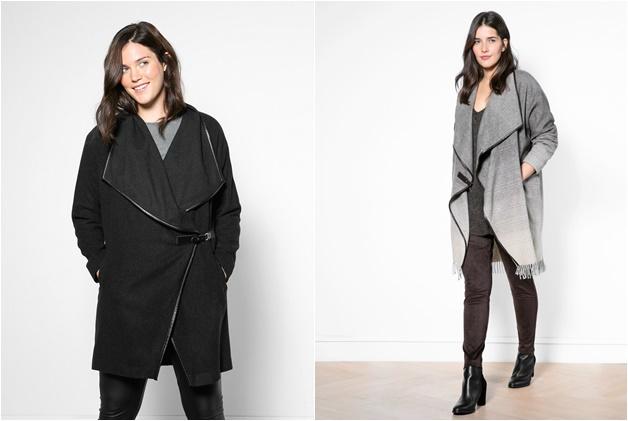 plussize draped coat 4 - Wishlisted! | Plussize draped coat