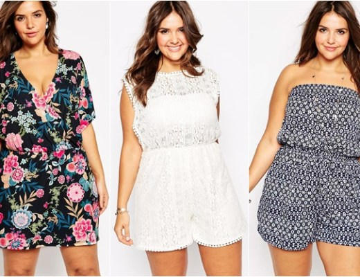 plussize playsuit