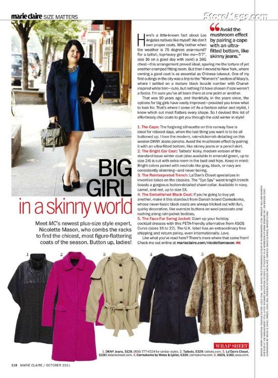 plussizeweeklywk38 1 - Plus Size Weekly #4: Bon'A Parte, MAT Fashion, Nicolette Mason & plus size op de catwalk