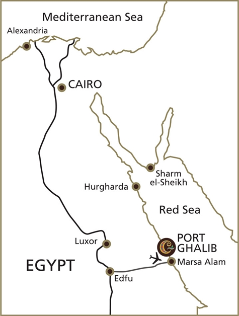 port ghalib egypte 2 - Luxueus Egypte | InterContinental the Palace, Port Ghalib