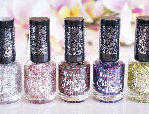 rimmel glitter bomb top coat 1 - Rimmel glitter bomb top coat