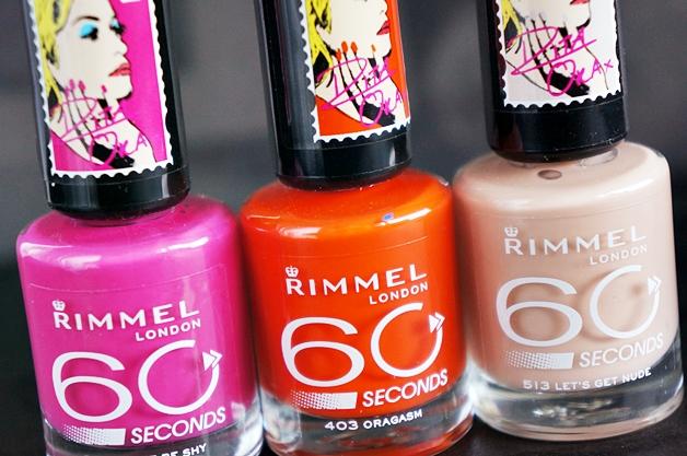 rimmel london rita ora 60 seconds nail polish 6 - Rimmel London x Rita Ora 60 seconds nail polish
