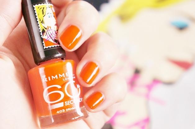 rimmel london rita ora 60 seconds nail polish 8 - Rimmel London x Rita Ora 60 seconds nail polish
