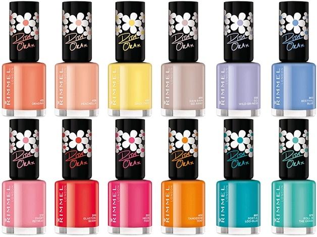 rimmel rita ora 1 - Rimmel x Rita Ora colourfest lip & nail collection