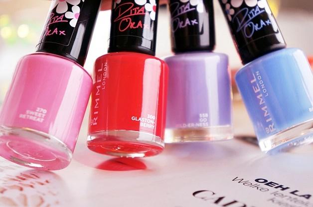 rita ora colourfest rimmel 2 - Rimmel x Rita Ora colourfest lip & nail collection