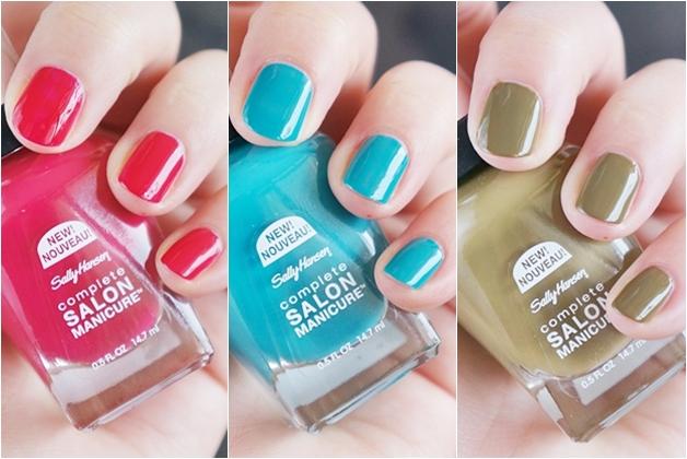 sally hansen complete salon manicure big shiny big matte top coat topcoat 7 - Sally Hansen lentenieuwtjes
