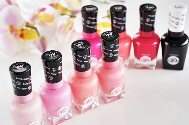 sally hansen miracle gel love pinks 1 - Sally Hansen Miracle Gel | Love Pinks collectie