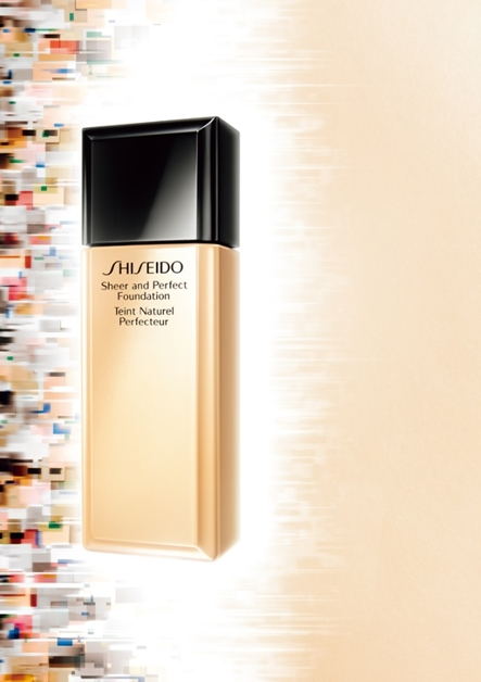 shiseido sheer and perfect foundation lacquer rouge 12 - Shiseido sheer and perfect foundation & lacquer rouge