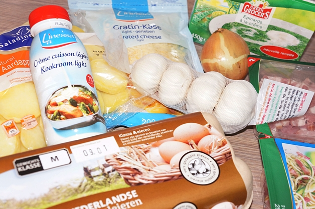sonjabakkerlidl3 - Recept | Spinazie ovenschotel