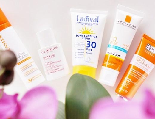 zonnebrandcrème voor de gevoelige huid