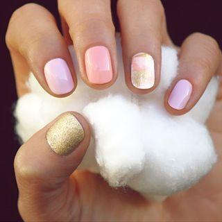summer nail art inspiratie 1 - Inspiratie | Soft summer nail art