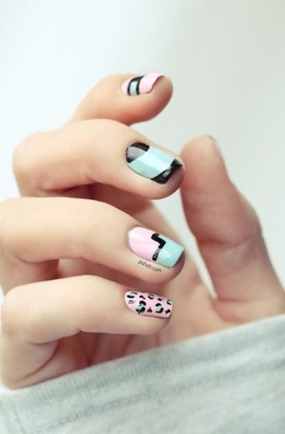 summer nail art inspiratie 10 - Inspiratie | Soft summer nail art
