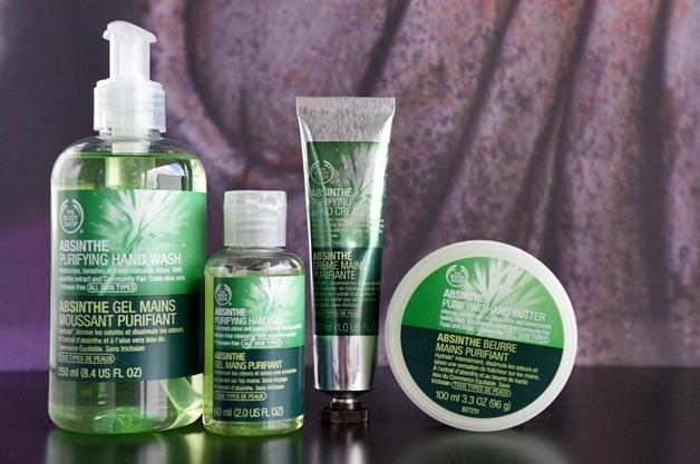 the body shop absinthe 1 - The Body Shop | Absinthe handverzorging