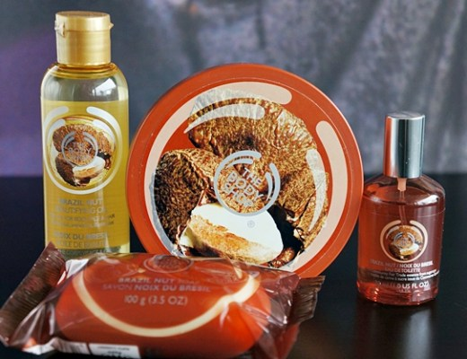 the body shop brazil nut 1 - Duo Review | The Body Shop Brazil Nut
