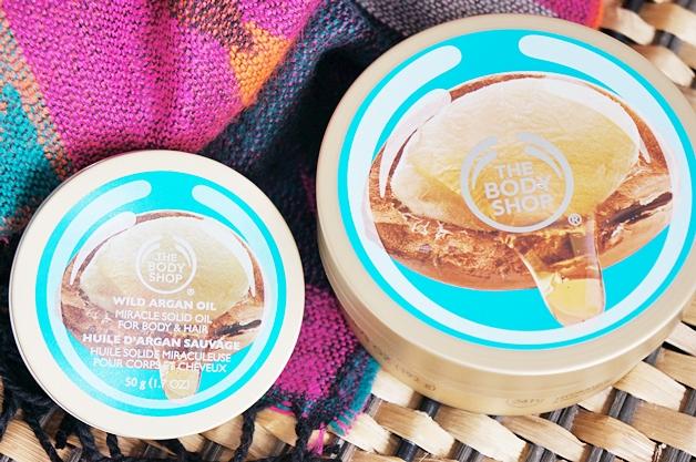 the body shop wild argan oil body butter miracle solid oil 1 - The Body Shop   Wild argan oil body butter & miracle solid oil