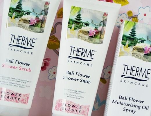 therme bali flower 1 - Een gladde en zachte zomerhuid in 3 stappen