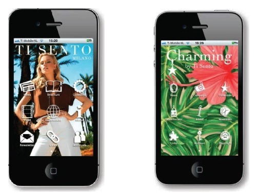 Newsflash | Ti Sento app