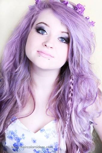 trend purple hair19 - Inspiratie | Paars haar