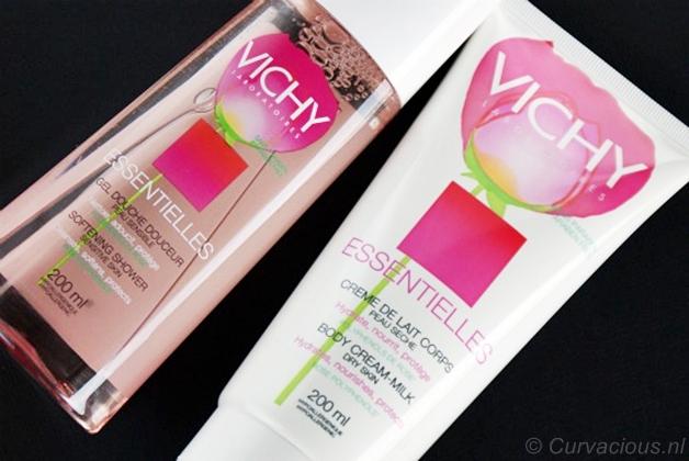 vichyessentielleslichaam1 - Vichy Essentielles   Zachte douchegel & bodycrème