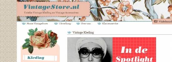 Winactie | €25,- shoppen bij VintageStore!