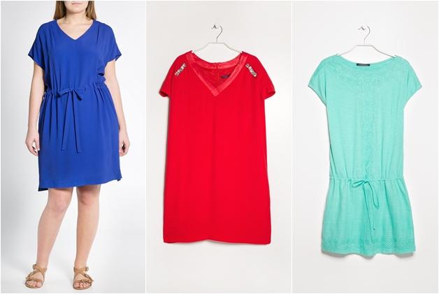 violeta1 - De leukste plussize t-shirt dresses