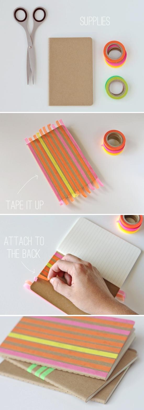 washi tape diy 13 - Inspiratie | Washi/masking tape DIY
