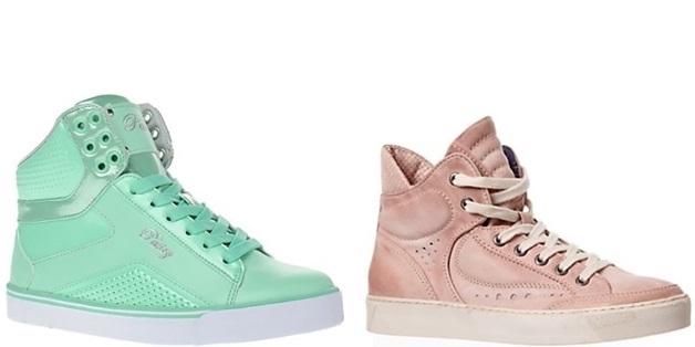 wehkamp1 - Inspiratie | Pastelkleurige sneakers