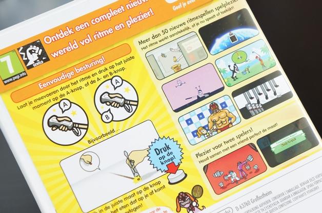 wiibeatthebeat2 - Wii game | Beat the beat 'Rhythm Paradise'