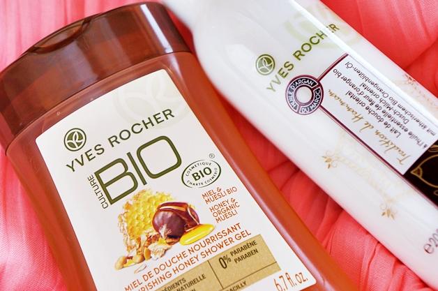 yves rocher culture bio honey tradition de hammam douchemelk 1 - Bodycare tips | Kneipp, Boots & Yves Rocher