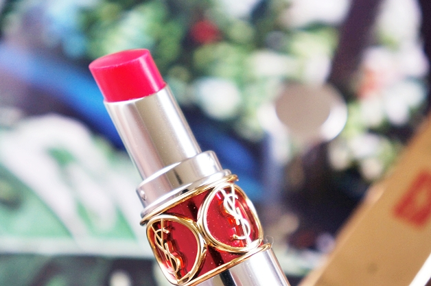 yves saint laurent volupté sheer candy succulent pomegranate 41 - Favoriete beautyproducten mei 2014