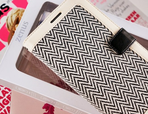 zenus herringbone diary samsung note 3 1 - New in! | Zenus herringbone diary case Note 3
