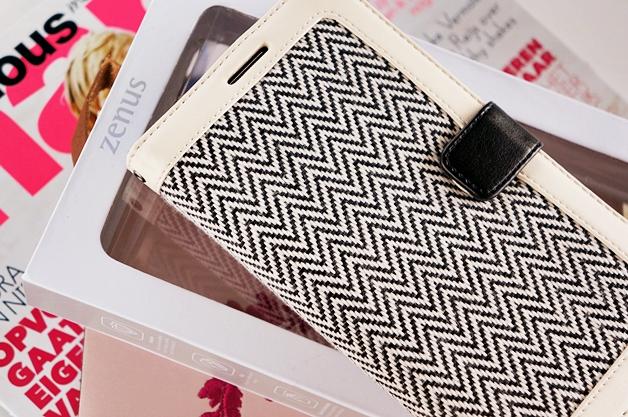zenus herringbone diary samsung note 3 1 - New in! | Zenus herringbone diary case Note 3