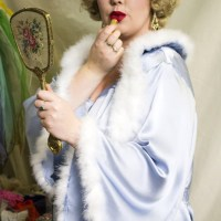 Channeling my inner Mae West with Evette Dubois Lingerie