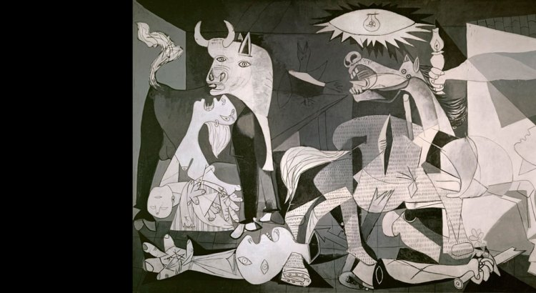 Guernica - Picasso's reaction to the bombing of Guernica in 1937