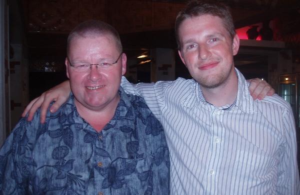 Bob Martin with WordPress founder Matt Mullenweg