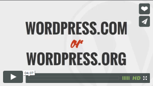 WordPress .com or .org?