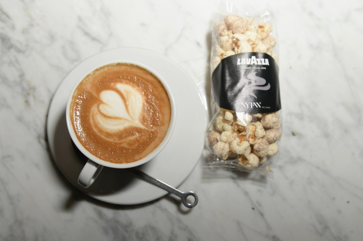 Lavazza Coffee x New York Fashion Week