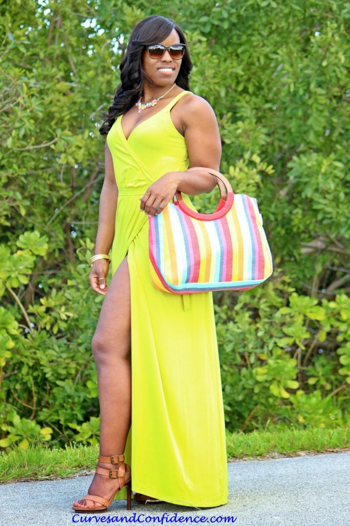 c44a0e14feb1d Dress – Old Navy | Purse – Goodwill | Necklace – Forever 21 | Sandals –  Marc Fisher