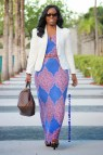How to Wear to Work Maxi Dresses