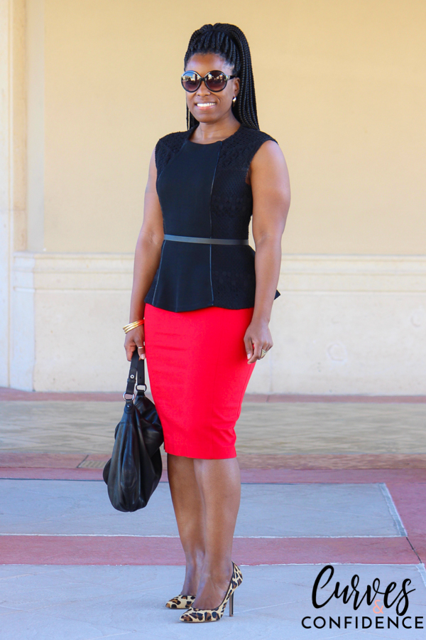 curves-and-confidence-lace-peplum-and-red-pencil-skirt_