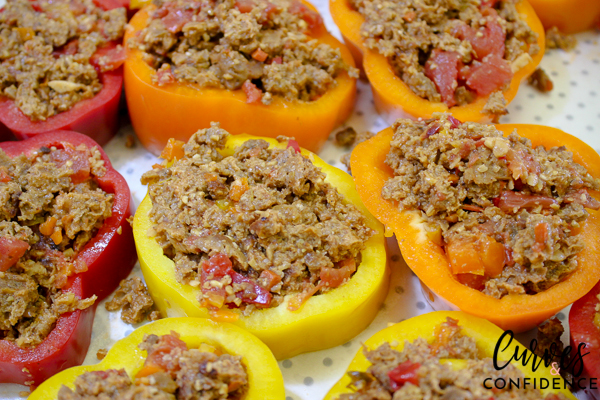 Curves and Confidence: Mini-Field Roast Classic Meatloaf Pepper Rings