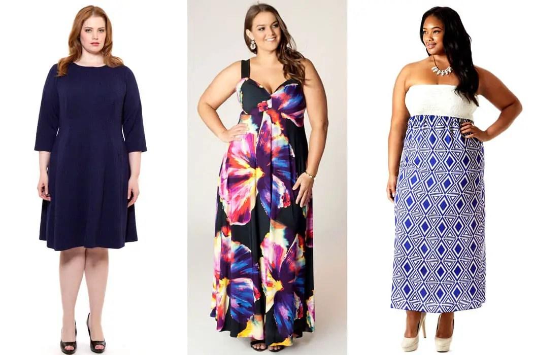 Rectangle Body Shape Plus Size Fashion Tips