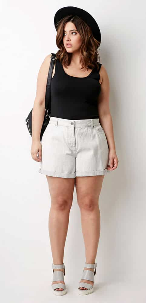 Flattering Shorts For Curvy Girls - Curvy Guide