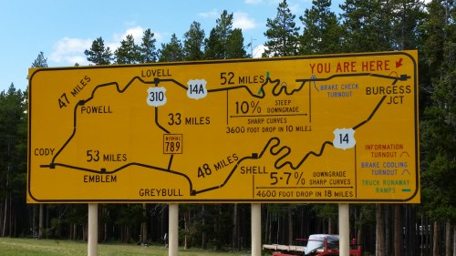 A map of AWESOME roads 14 and Alt 14!