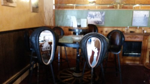 Cool stools, terrible pic