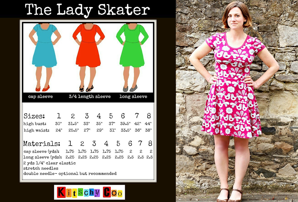 Tried And True Pattern The Lady Skater Dress